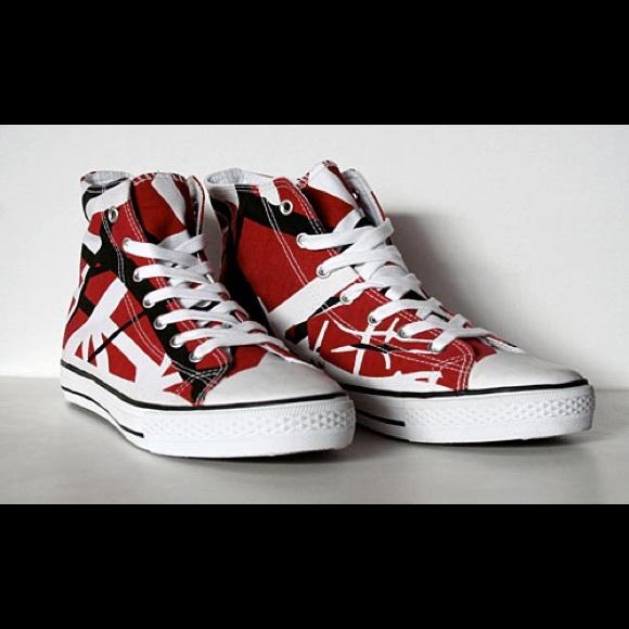 62af9b159b EVH Shoes - Eddie Van Halen Converse Inspired Sneakers